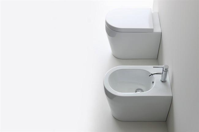 Sanitari Nero Ceramica Aliseo.Cerqua Home Genesi A Terra