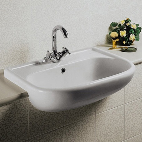 Lavabo dolomite semincasso infissi del bagno in bagno - Lavabi bagno ideal standard ...
