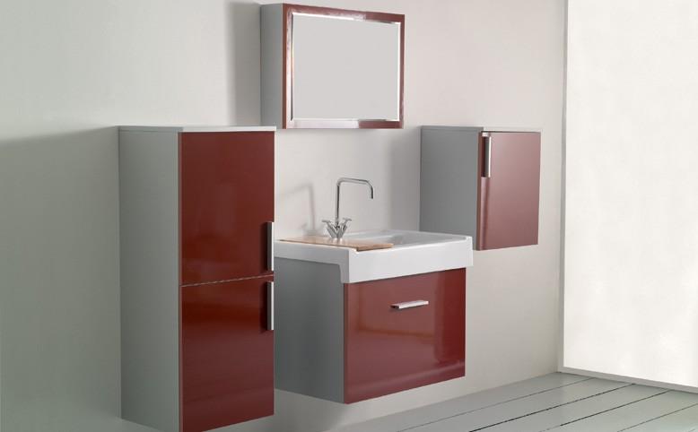 Orologio da tavolo in vetro colorato - Mobili per lavanderia domestica ...